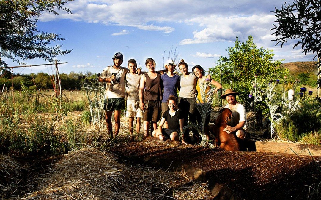 Viviendo de la permacultura, un método sostenible.