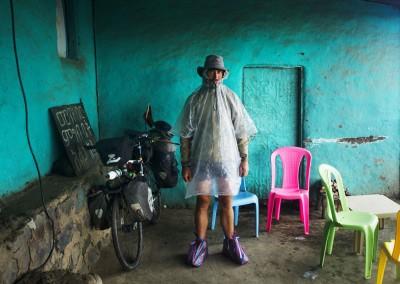 Javier Coloradopreparado para la lluvia