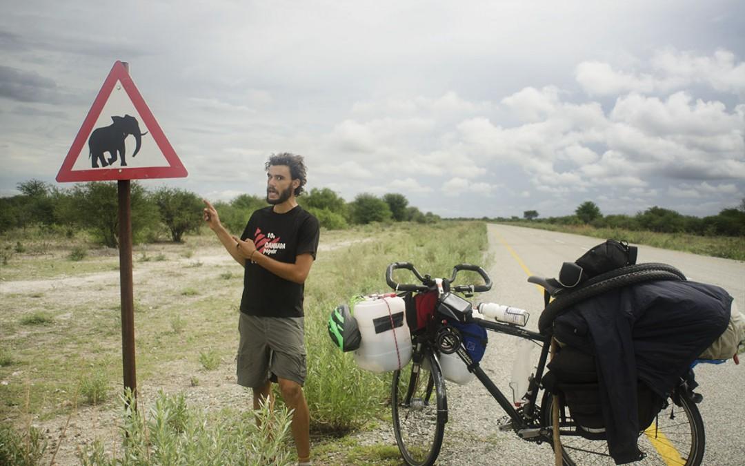Cruzar Botsuana en bicicleta