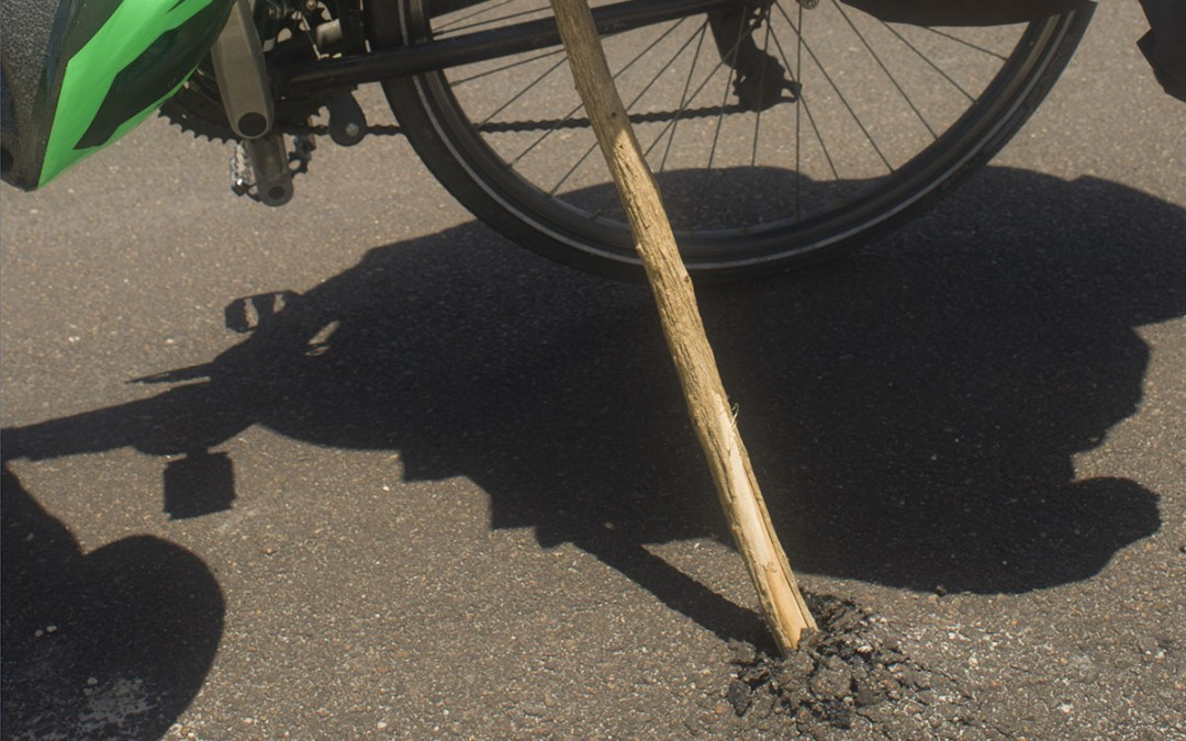 Esta bicicleta pesa demasiado