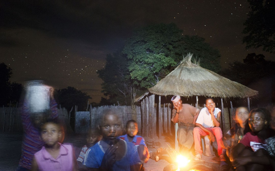 Una noche con los Bushman