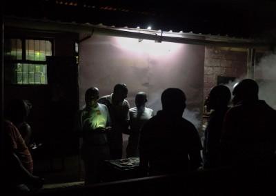 Lusaka de noche