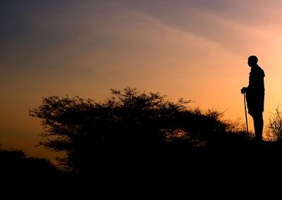 Maasai en Kenya