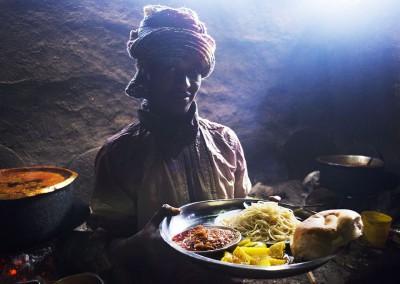 Cocinero en Etiopía