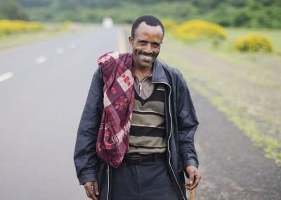 Hombre en Etiopía