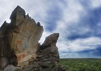 Pinturas rupestres en Botsuana