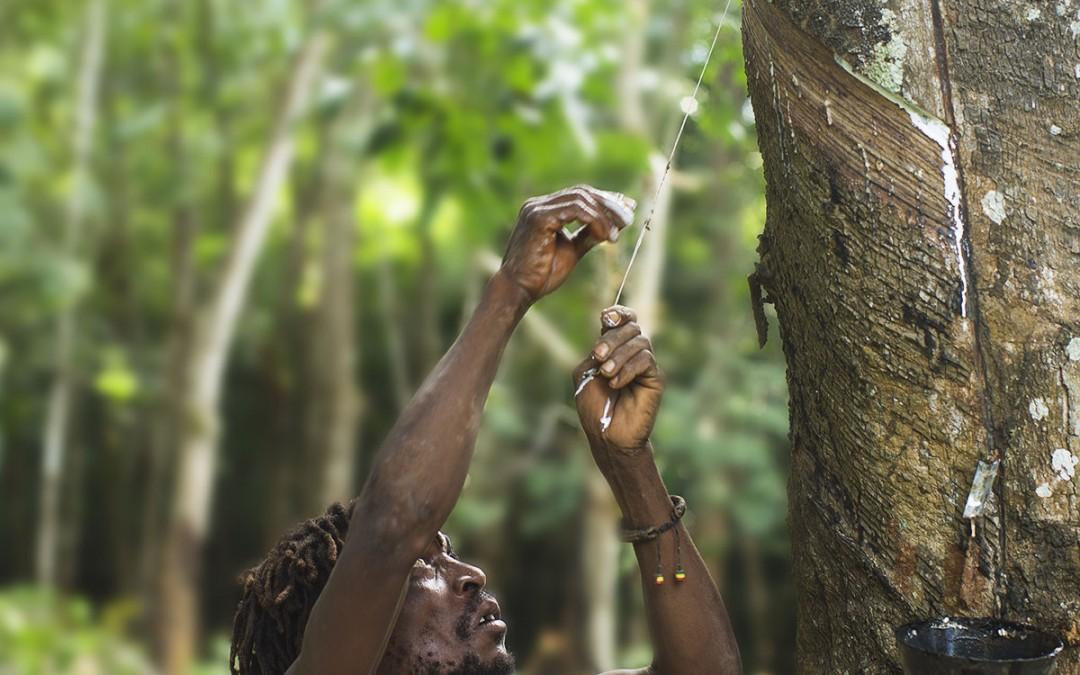 Pelotas de goma en Malawi
