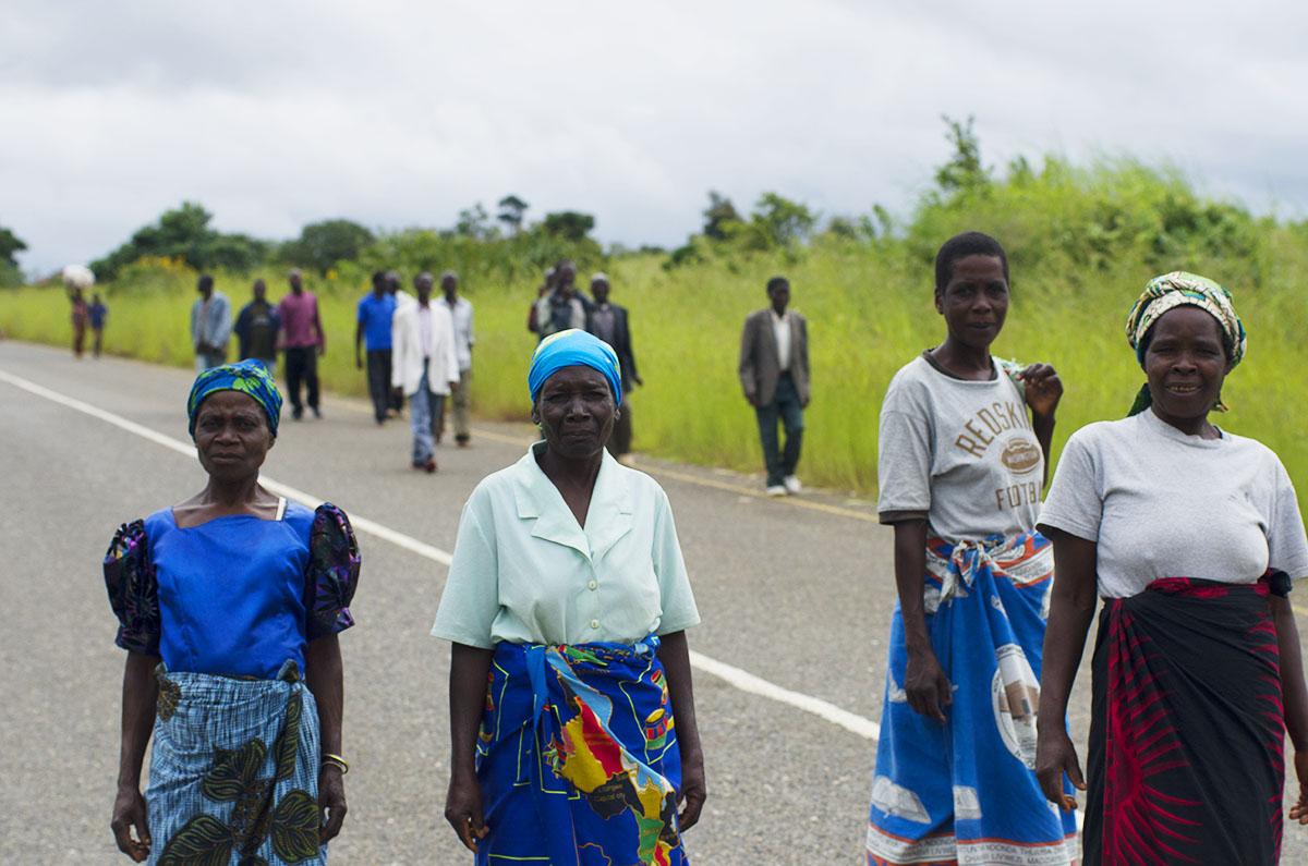 Mujeres en Malawi