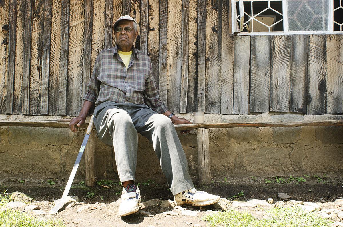 Hombre de Nanyuki, Kenya.