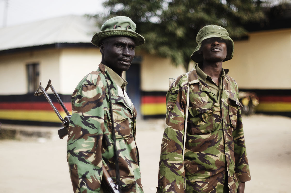 Militares en Kenya