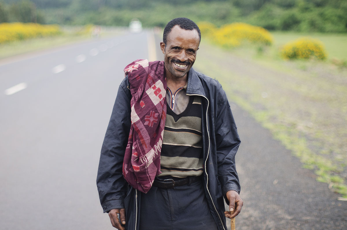 Hombre etíope