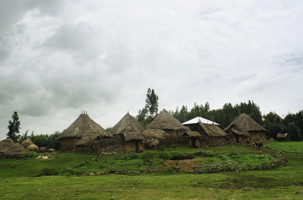 Poblado del norte de Etiopía