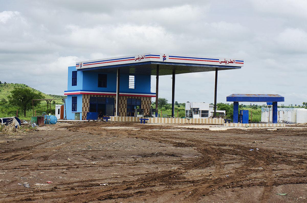 Gasolinera en Sudán