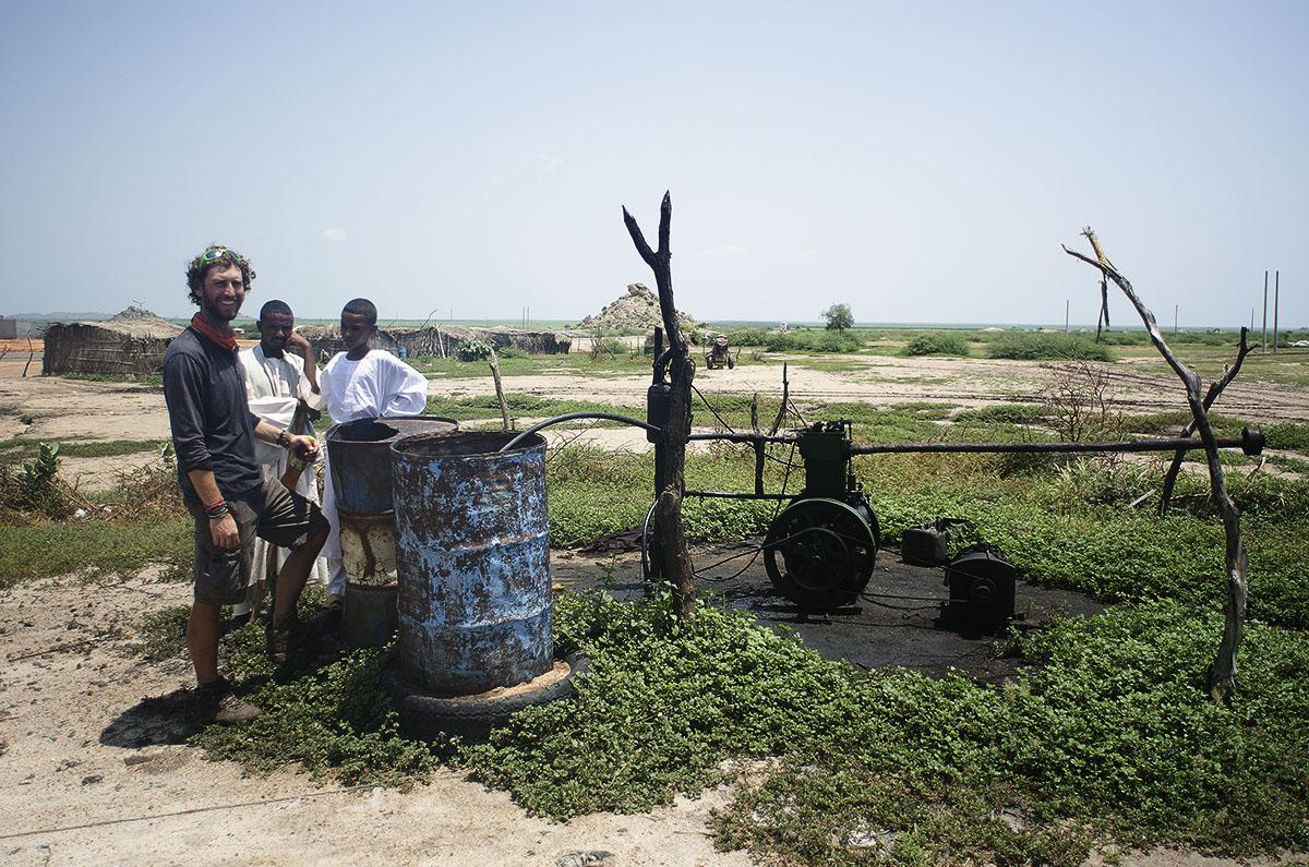 Bomba de agua en Sudán