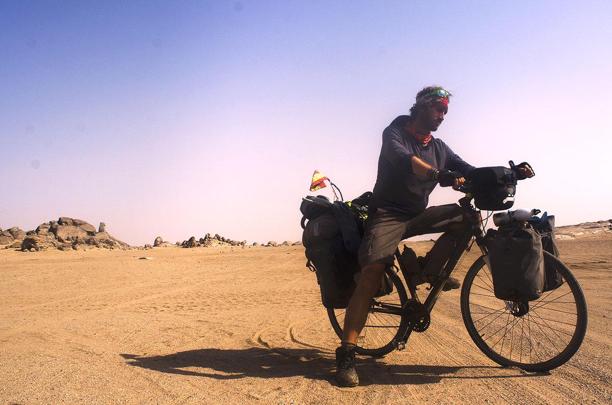 Colorado en el desierto de Sudán