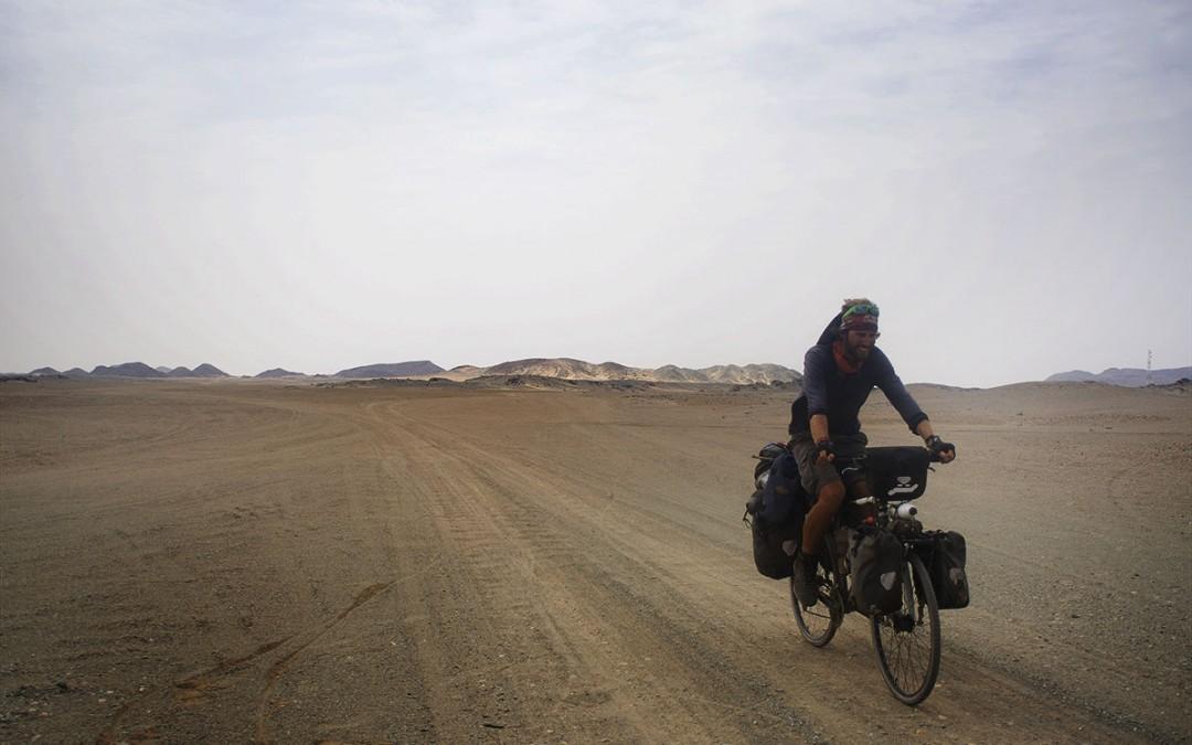 Sudán en bicicleta