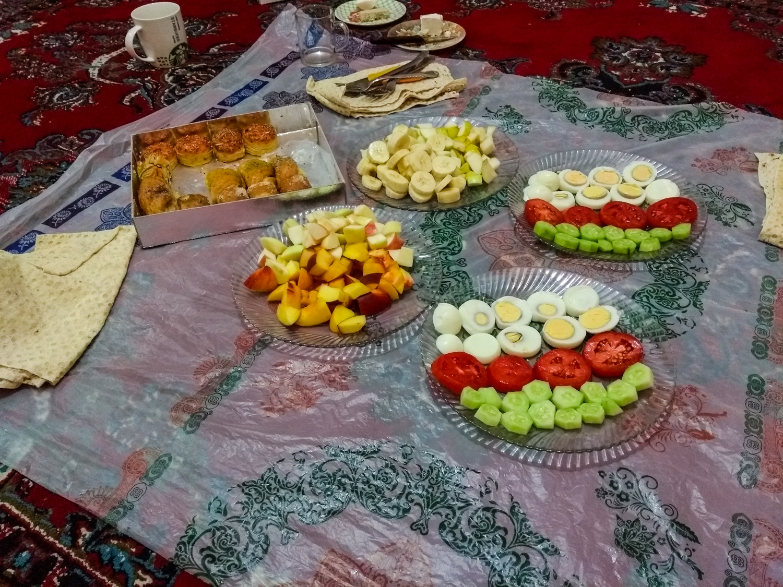 Menjar a casa la Zeynab